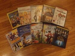 Geoff109 Disney Movie DVDs 1.5