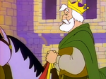 King Gregor on a Horse
