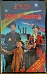 Mary Poppins Mid 1980s AUS VHS