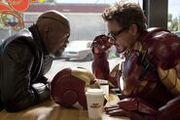 Nick Fury & Tony Stark