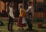 Once Upon a Time - 7x04 - Beauty - Photography - Gold, Belle and Gideon