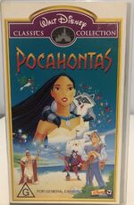 Pocahontas 2000 AUS VHS