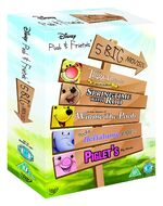 Pooh & Friends 5 Big Movies Box Set UK DVD