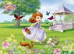 Priness Sofia in the garden