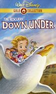 RescuersDownUnder GoldCollection VHS