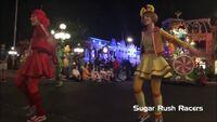 Sugar Rush Racers MEGA MIX Mickey's Boo To You 2016 Parade at Magic Kingdom