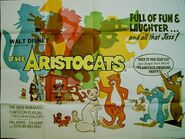 The Aristocats Teaser Poster