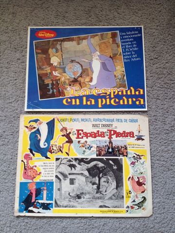 File:The sword in the stone mexican lobby cards.jpg