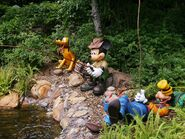 Camp MInnie Mickey Fishing