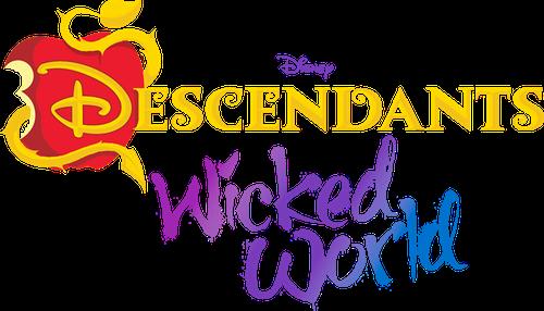 File:Descendants Wicked World Logo.png