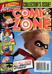 Disney Adventures Comic Zone cover Winter 2005 incredibles