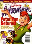 Disney adventures march 2002 cover peter pan