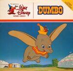 Dumbo 1981 Laserdisc