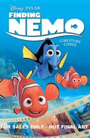 Finding Nemo Cinestory Comic