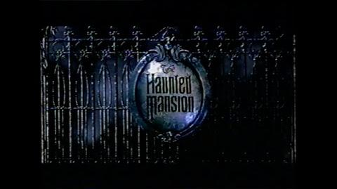 HAUNTED MANSION MOVIE TRAILER VHS 2003