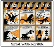 In case of Kaiju Attack