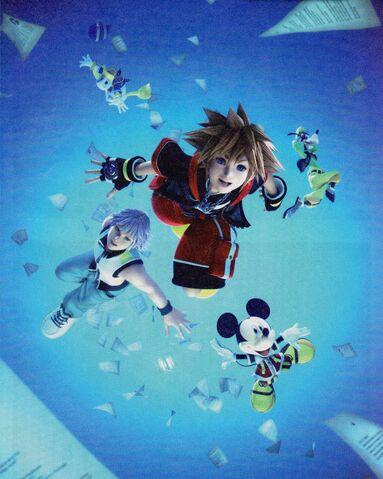 File:Kingdom Hearts Dream Drop Distance opening artwork.JPG