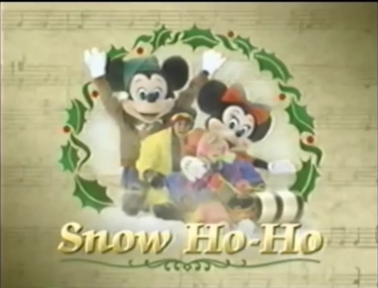 snow ho ho - Disney 12 Days Of Christmas