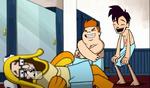 The Three Mascot-teers - Laughing
