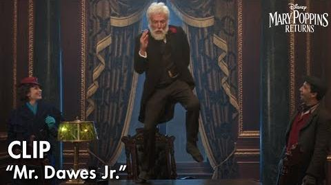 """Mr. Dawes Jr."" Clip Mary Poppins Returns"