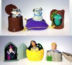 BK Pocahontas Finger Puppets