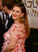 Drew Barrymore 71st Golden Globes
