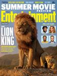 Entertainment Weekly - The Lion King cover