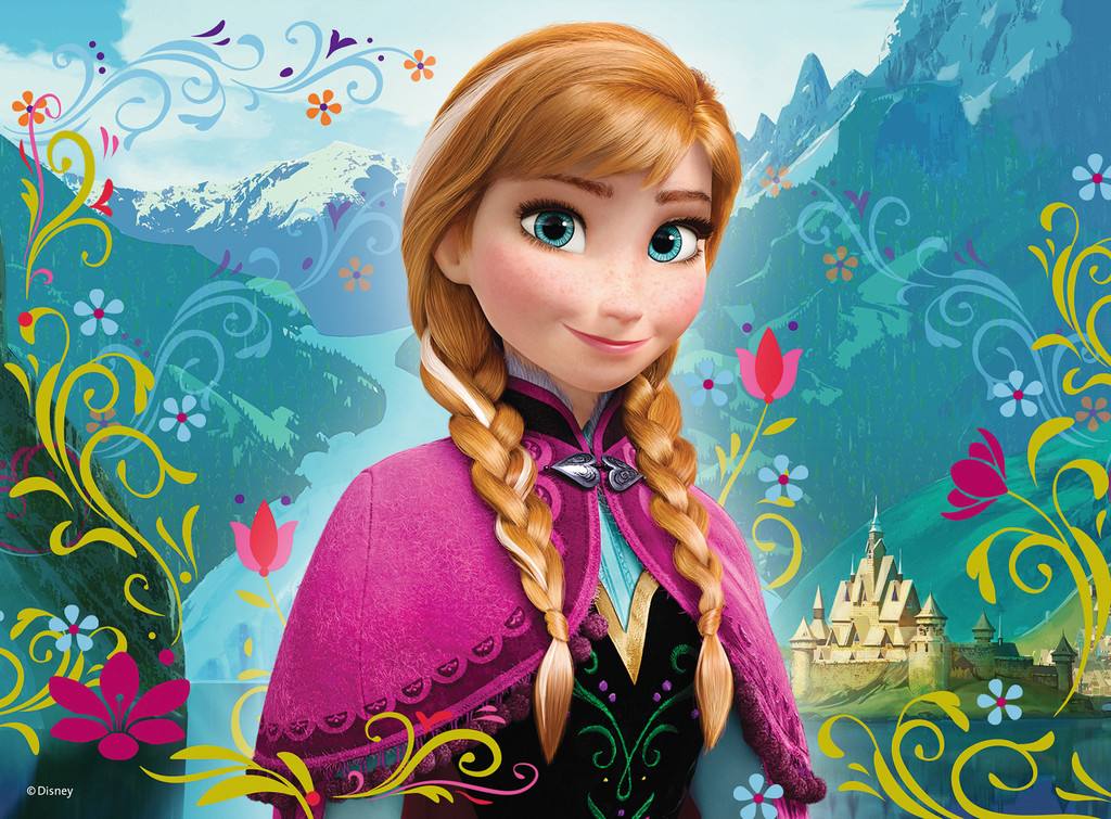 Image frozen anna wallpaper disney wiki fandom - Frozen cartoon wallpaper ...