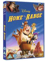 Home on the Range UK DVD 2014