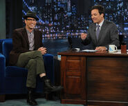 Jason Lee visits Jimmy Fallon