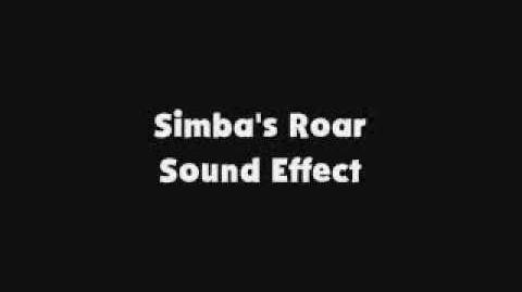 Simba's Roar SFX-0
