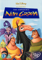 The Emperor's New Groove (2001 UK DVD)
