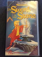 The sword in the stone australia vhs