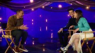 WILL SMITH Interviews Alladin's Naomi Scott & Mena Massoud