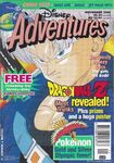 Disney Adventures Magazine Aus cover Nov 2000 Dragon Ball Z