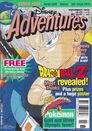 Disney Adventures Magazine Aus cover Nov 2000 Dragon Ball Z
