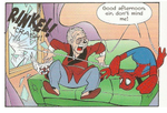 Donald and Stan Lee