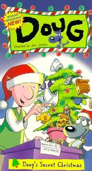 Doug's Secret Christmas VHS