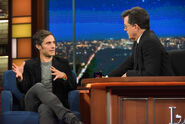 Gael Garcia Bernal visits Stephen Colbert