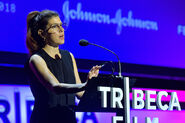 Marisa Tomei speaks at Tribeca Fest