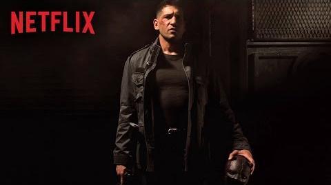 Marvel's Daredevil - Character Artwork - Frank Castle - Netflix HD