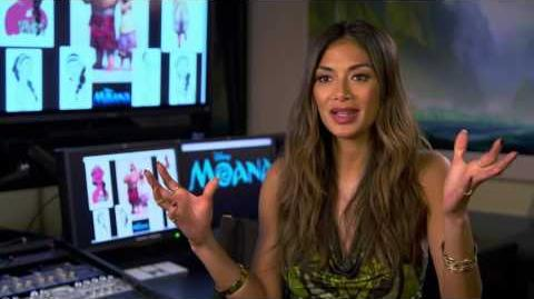 "Moana ""Sina"" On Set Interview - Nicole Scherzinger"