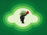 Secret Agent Double-Oh-Frog