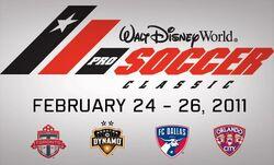 2011 Walt Disney World Pro Soccer Classic