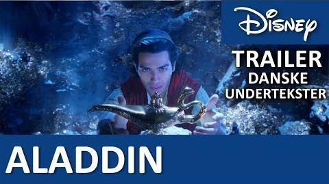 ALADDIN - Teaser Trailer Maj 2019 Official Disney Danmark