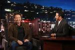 David Duchovny visits Jimmy Kimmel