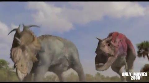 Dinosaur - Carnotaur attack HD