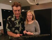 Fred Willard & Catherine O'Hara behind the scenes CL