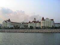 Hong Kong Disneyland Hotel daytime
