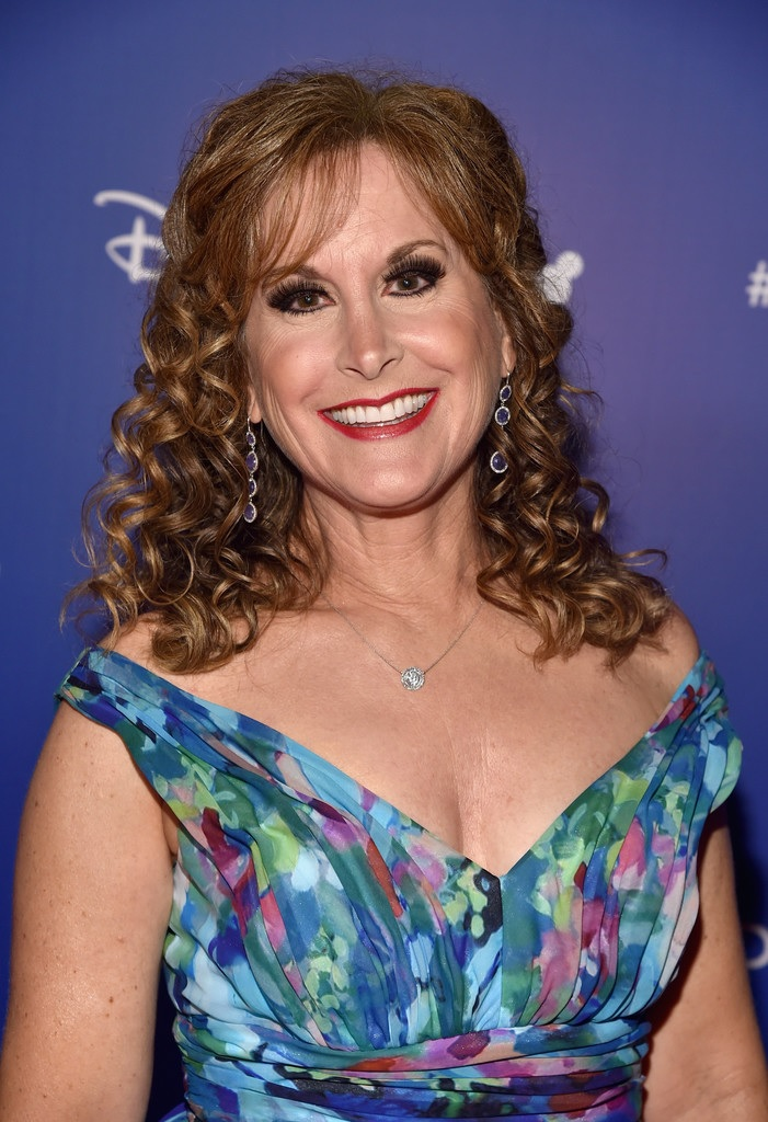 Jodi Benson is wearing a beautiful smile on her face